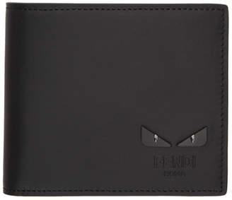 297aa9b4c4 Fendi Black Bag Bugs Bifold Wallet
