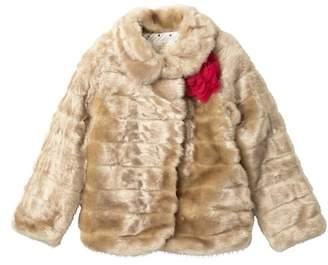 Kate Spade faux fur mink coat (Big Girls)