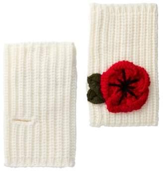 Kate Spade Crochet Poppy Arm Warmers