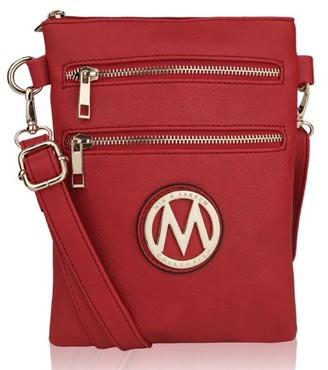 MKF Collection by Mia K Farrow MKF Collection Medina Vegan Leather Fashion Crossbody by Mia K. Farrow