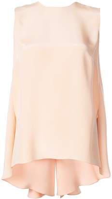 ADAM by Adam Lippes Knot Back Sleeveless Top