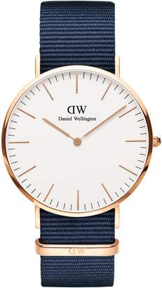 Daniel Wellington Classic NATO Strap Watch, 40mm