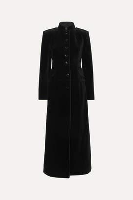 Tom Ford Cotton-velvet Coat - Black