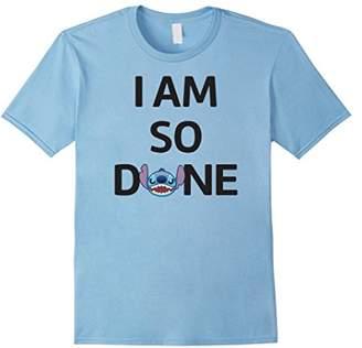 Disney Stitch So Done T Shirt
