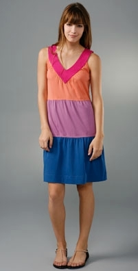 Marc by Marc Jacobs Colorblock Jersey Dress