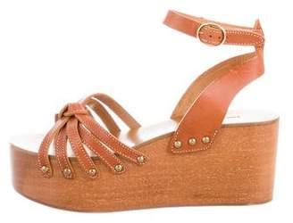 Etoile Isabel Marant Ankle Strap Wedge Sandals
