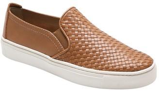 The Flexx Slip On Leather Sneakers - Sneak Name