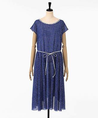 Antipast (アンティパスト) - [Antipast] Dot Printe Fabric Dress(Pop20)