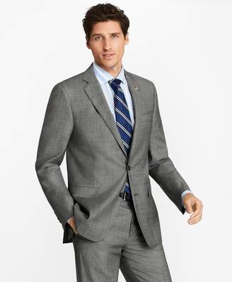 Brooks Brothers Regent Fit Grey Two-Button 1818 Suit