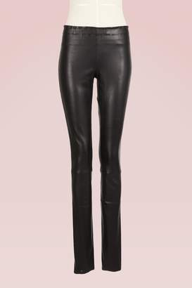 STOULS Carolyn Plunged Leather Legging