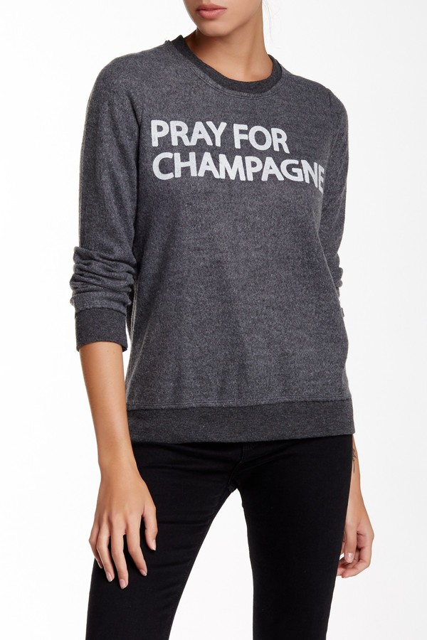 Chaser Crew Neck Long Sleeve Sweater 3