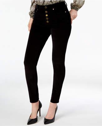 Michael Kors Button-Fly Corduroy Pants