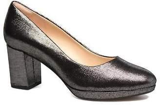 Clarks Women's Kelda Hope Rounded toe High Heels in Silver