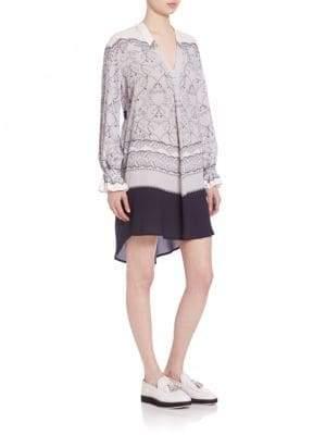 Mother of Pearl Hettie Silk Tunic Dress