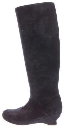 Bottega VenetaBottega Veneta Suede Knee-High Boots