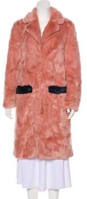 Shrimps Faux Fur Coat w/ Tags