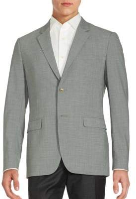 Theory Textured Wool Blend Blazer