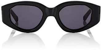 Karen Walker Women's Castaway Sunglasses - Black