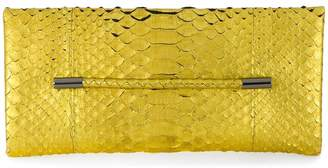 Tom Ford snakeskin effect clutch