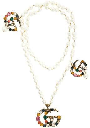 Gucci GG logo necklace
