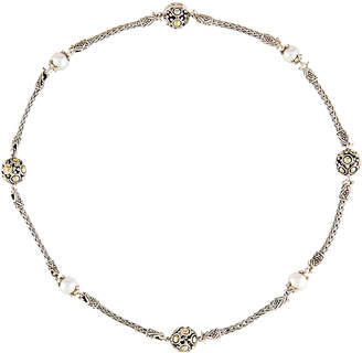 John Hardy Dot Beaded Wrap Necklace