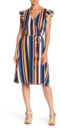 SUPERFOXX Vertical Allusion Dress