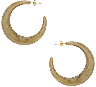 Shashi Tortoise Hoop Earrings