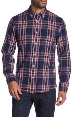 Nordstrom Long Sleeve Plaid Shirt