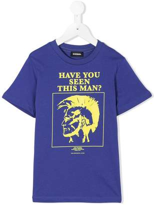 Diesel punk print T-shirt