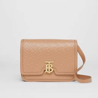 Burberry Medium Monogram Leather TB Bag