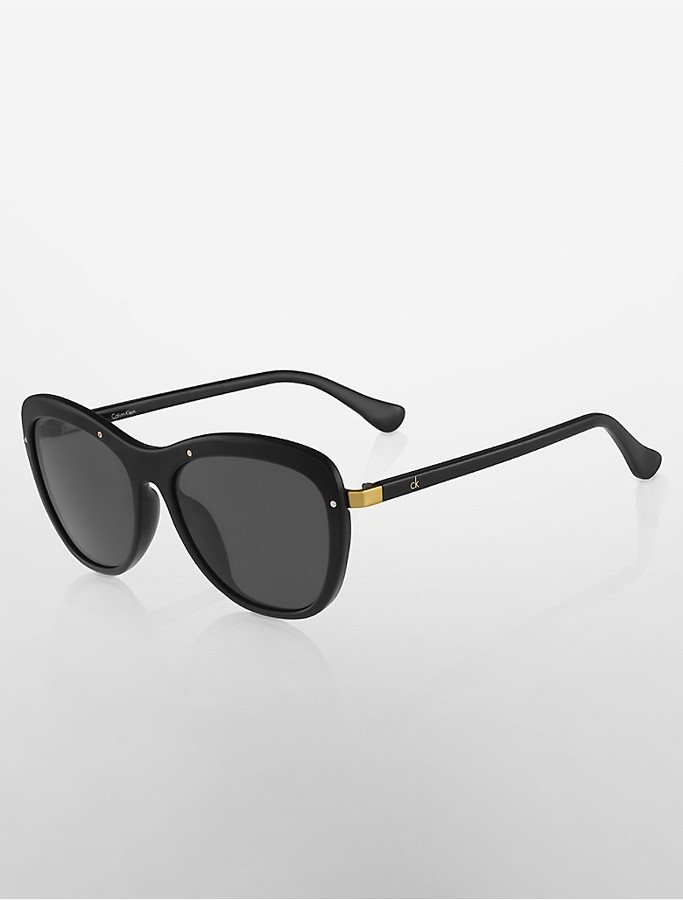 Calvin KleinButterfly Sunglasses