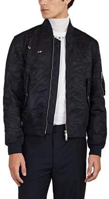 Valentino Men's Tiger-Appliquéd Bomber Jacket