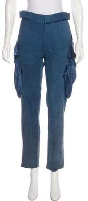 Todd Lynn Mid-Rise Straight-Leg Pants