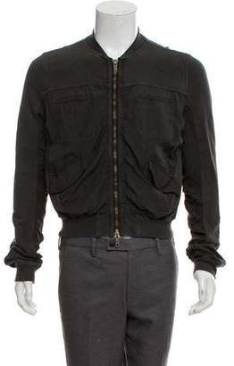 Haider Ackermann Terry Cloth Bomber Jacket