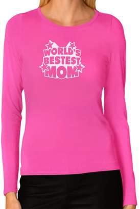 DAY Birger et Mikkelsen TeeStars World's Bestest Mom Mother's Gifts Best Mommy Ever Women Long Sleeve T-Shirt