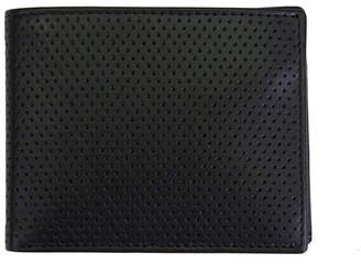 Steve Madden Perforated Leather Billfold Wallet