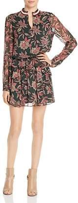 Scotch & Soda Floral Print Blouson Dress