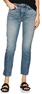 GRLFRND Women's Karolina Distressed High-Rise Jeans