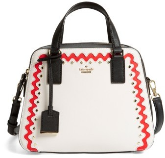 Kate Spade Kate Spade New York Cameron Street - Little Babe Leather Satchel - Ivory
