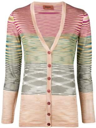 Missoni fitted fine knit cardigan