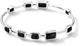 Ippolita 9-Stone Bangle in Black Onyx