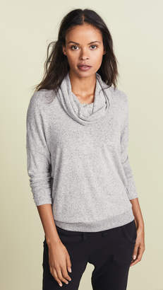 Z Supply The Marled Cowl Neck Sweater