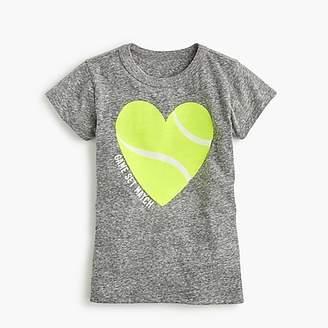 "J.Crew Girls' ""game set match"" T-shirt"