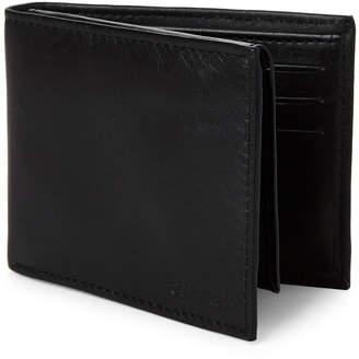 Calvin Klein Black Bi-Fold Wallet & Money Clip Set