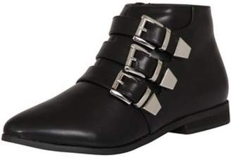 Dorothy Perkins Womens *London Rebel Leather Look Ankle Boots