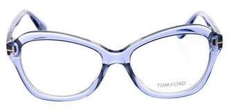 Tom Ford Rectangle Clear Eyeglasses