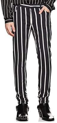 Balmain Men's Striped Skinny Jeans