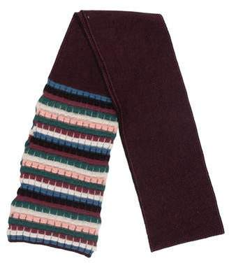 Missoni Wool Skinny Scarf
