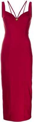 Fausto Puglisi fitted bustier dress