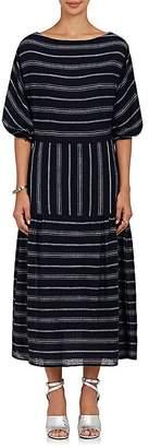 Warm WARM WOMEN'S GYPSY STRIPED GAUZE MAXI DRESS